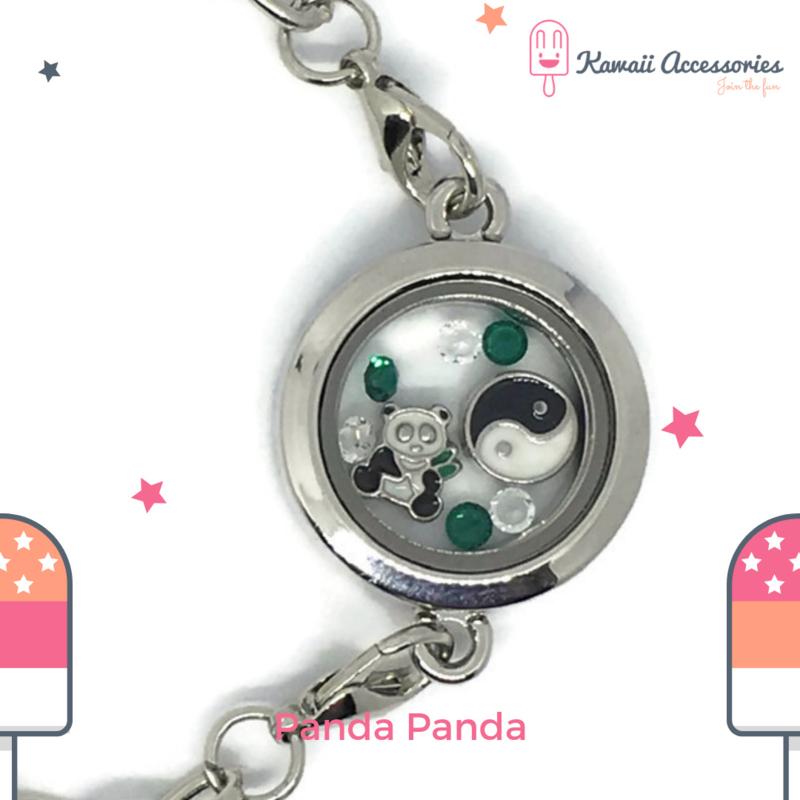 Panda Panda Locket - armband