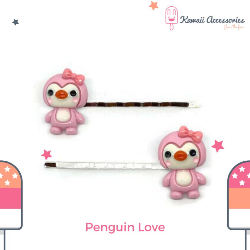 Penguin Love - Haarspelden