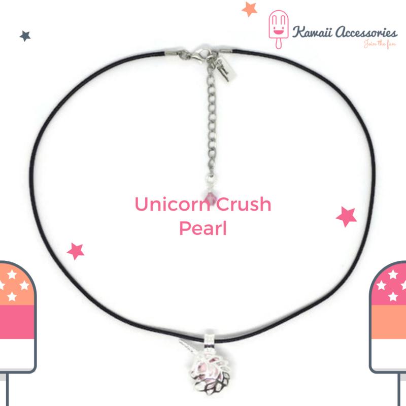 Unicorn Crush Pearl - Kawaii ketting