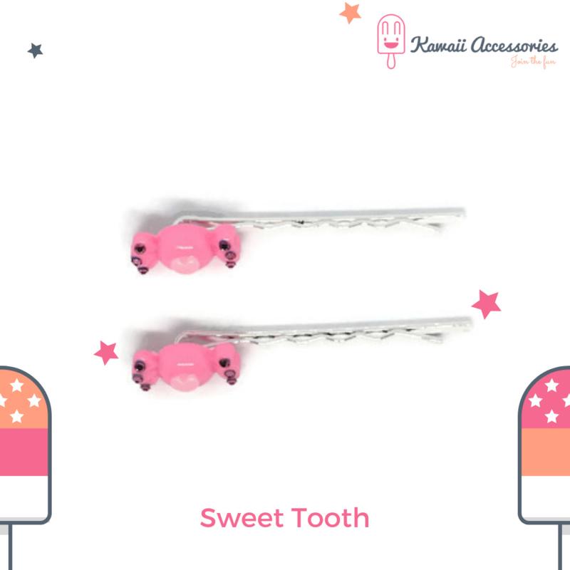 Sweet Tooth - Kawaii haarspelden