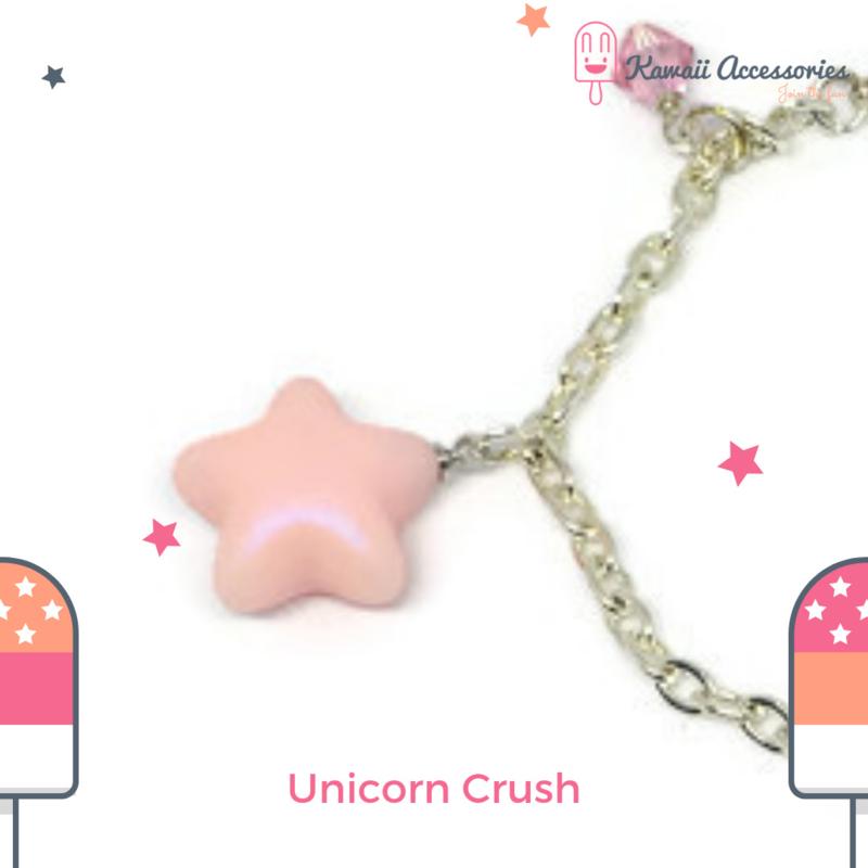 Unicorn Crush Charm  - armband