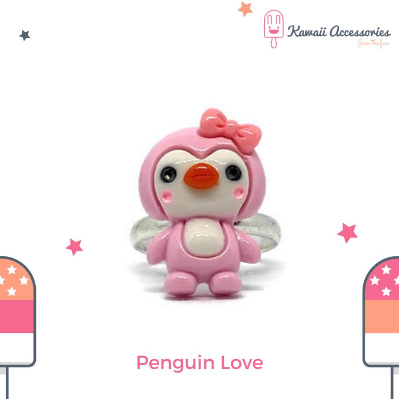 Penguin Love - Ring