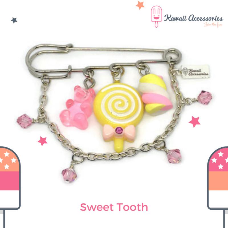 Sweet Tooth - Kawaii broche