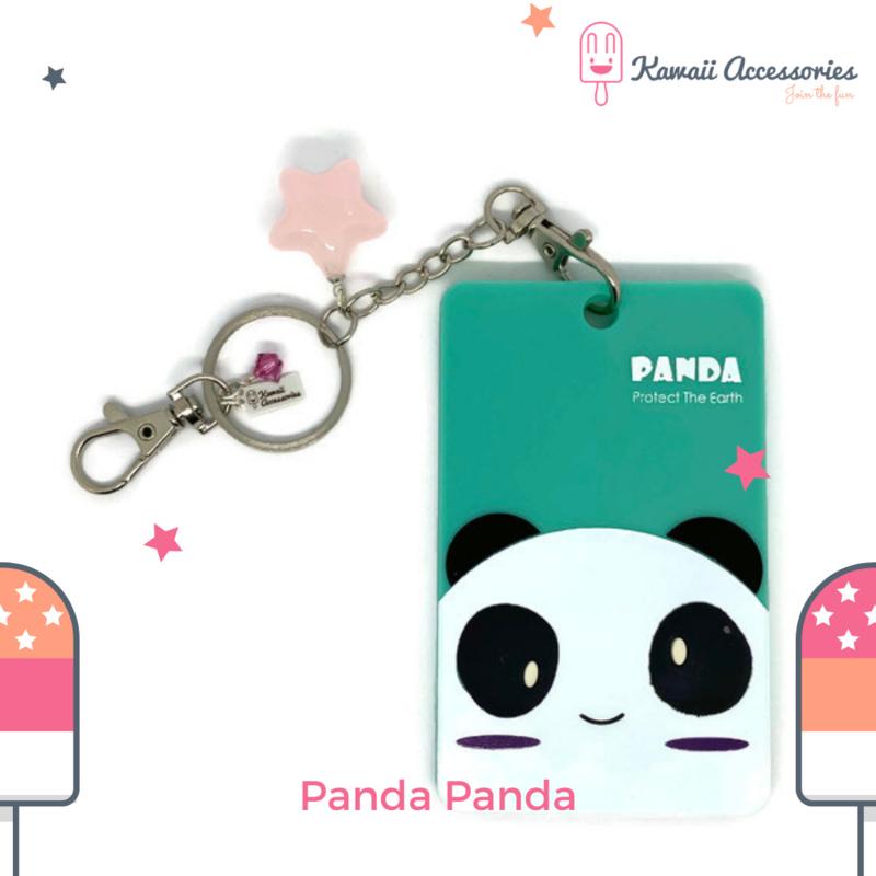 Panda Panda ID - Tas-/ Sleutelhanger