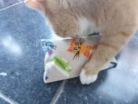 Snuffelzakjes XXL Blije kat (gevuld naar wens)