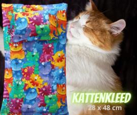 Kattenkleed Disco (28x48)+ bijpassend speel/ slaapkussen (18x12)