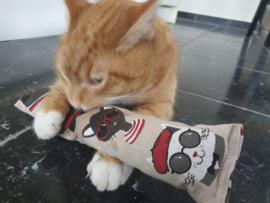 Snuffelzak Gym XXL Funny cat (geur naar wens)