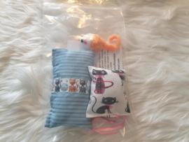 Kittenpakket Dubbelverrassing (catnip)