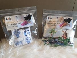 Snuffelzakjes souvenir (gevuld met catnip)