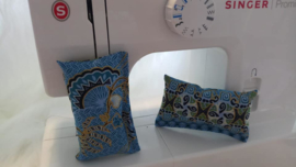 Snuffelzakje Balinese Batik Blauw
