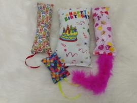 Verjaardagpakket poes