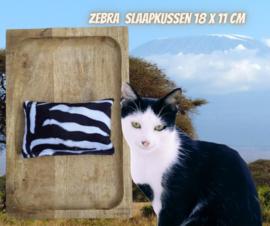 Slaap/speelkussen Zebra (gevuld naar wens)