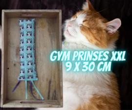 Snuffelzak Gym XXL Prinses met lintjes (gevuld met catnip én valeriaan)