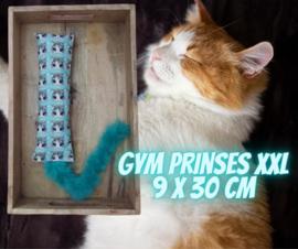 Snuffelzak Gym XXL Prinses met staart (gevuld met catnip én valeriaan)