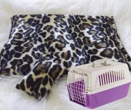 kattenkleed+ bijpassend snuffelzakje Jaguar