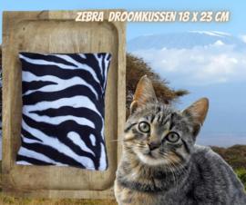 Zebra Droomkussen (geur naar wens)