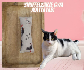 Snuffelzakje gym miauw (gevuld met matatabi)