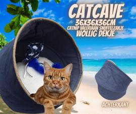 Catcave  36x36x36 Stoer (geur naar wens)  2 op voorraad