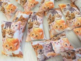 Snuffelzakje Kitty's kittenclub (gevuld met catnip)
