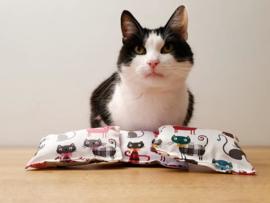 Startersset Defige kat (catnip, valeriaan en matatabi)