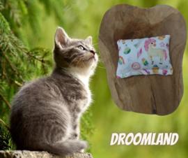 Snuffelzakje Droomland (catnip én valeriaan)