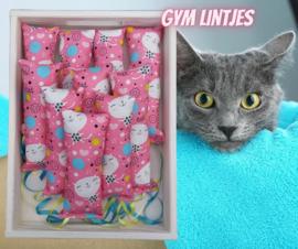 Snuffelzakje gym met lintjes