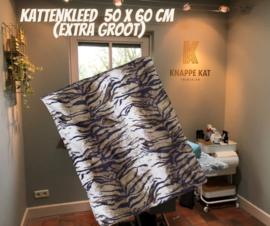 Kattenkleed Tijgerprint voor trimsalon 50x60 (zonder geur)