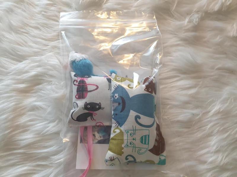 Kittenpakket Dubbelverrassing (catnip én valeriaan)