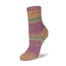 Rellana - Flotte Socke 4f. Baumwolle + Merino Stretch