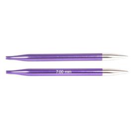 KnitPro Zing verwisselbare breipunten 7.00mm