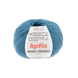 Katia Basic Merino 81 - Groenblauw