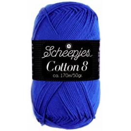 Cotton 8 519 Blauw