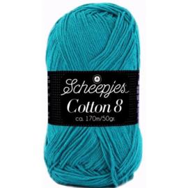 Scheepjes Cotton 8 724 Blauw