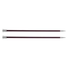 KnitPro Zing Breinaalden met knop 40cm 6.00 mm