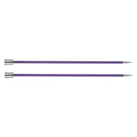KnitPro Zing Breinaalden met knop 40cm 3.75 mm