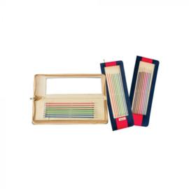 KnitPro Zing Breinaalden met knop set 25cm