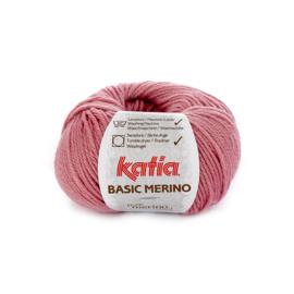 Katia Basic Merino 26 - Medium bleekrood