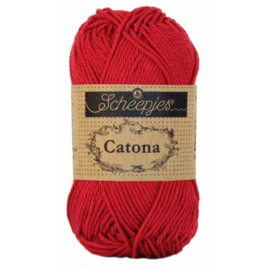Scheepjes Catona 192 Scarlet