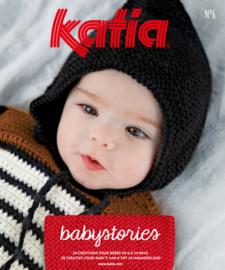 Tijdschrift Katia Baby Babystories 6