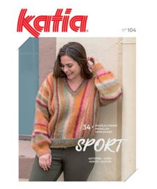 Tijdschrift Katia Dames Sport 104