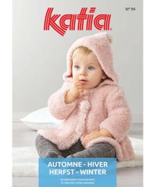 Tijdschrift Katia Baby 94  Herfst - Winter