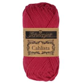 Scheepjes Cahlista 192 Scarlet