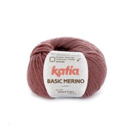Katia Basic Merino 74 - Donker bleekrood