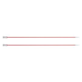 KnitPro Zing Breinaalden met knop 40cm 2.00 mm