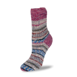 Rellana Flotte Socke 4f. Perfect Jacquard - 1141