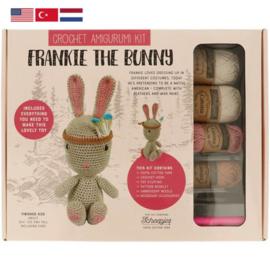 Frankie the Bunny Tuva haakpakket amigurumi