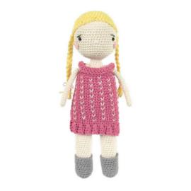 Scarlett Doll Tuva haakpakket amigurumi