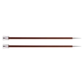 KnitPro Zing Breinaalden met knop 40cm 5.50 mm