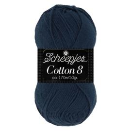 Scheepjes Cotton 8 527 Blauw