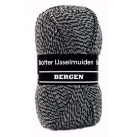 Botter IJsselmuiden Bergen Zwart, Grijs - 006